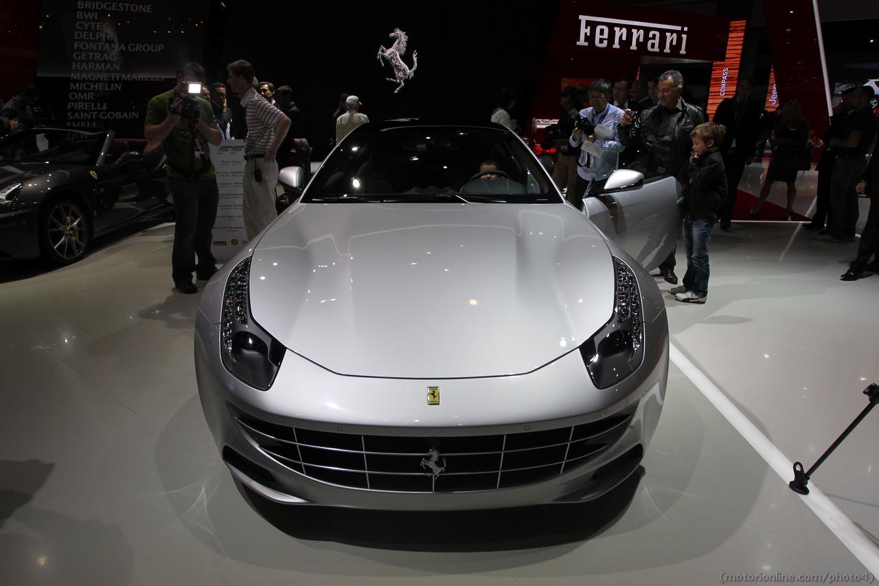 Ferrari FF - Salone di Parigi 2012