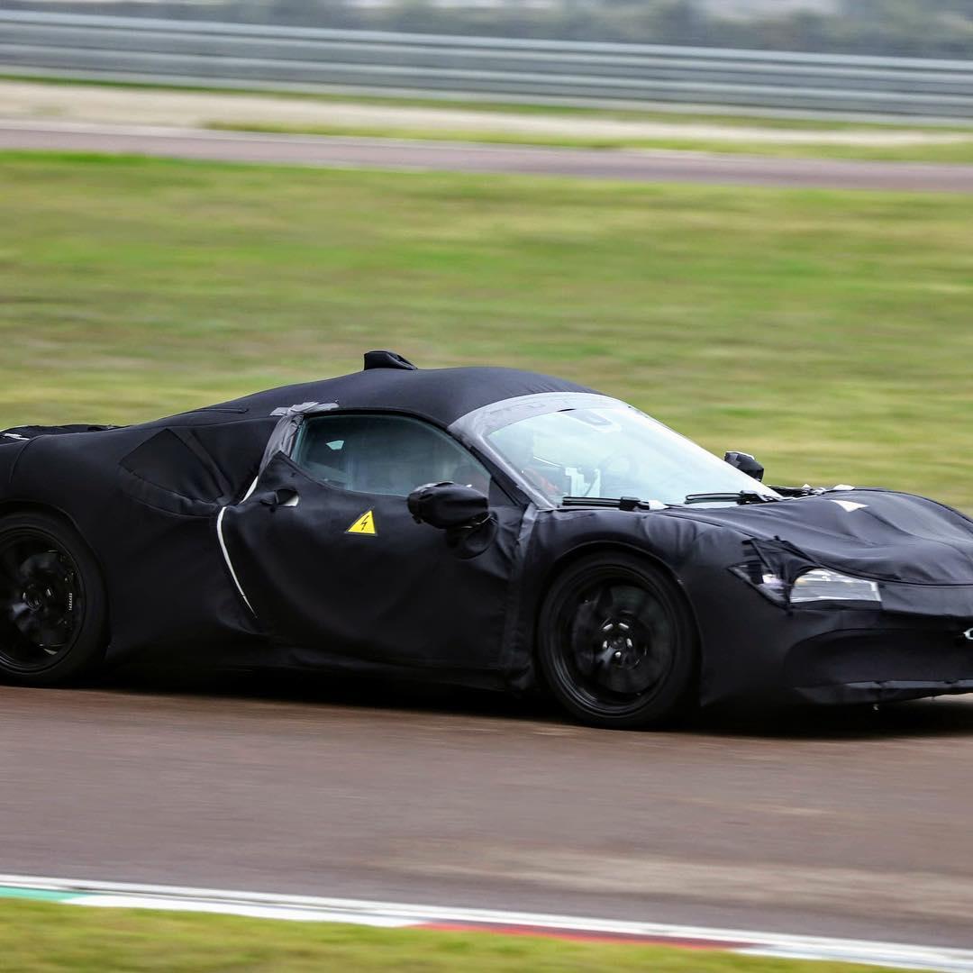 Ferrari Hybrid - Foto spia 22-10-2018