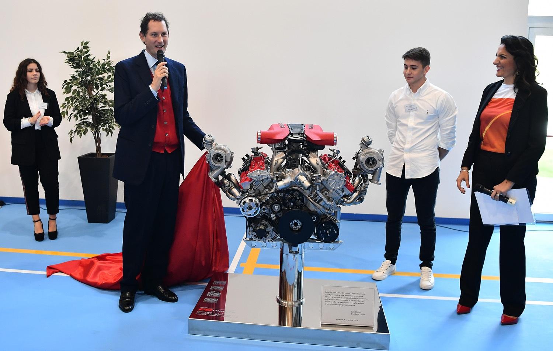 Ferrari - Istituto onnicomprensivo Sergio Marchionne di Amatrice