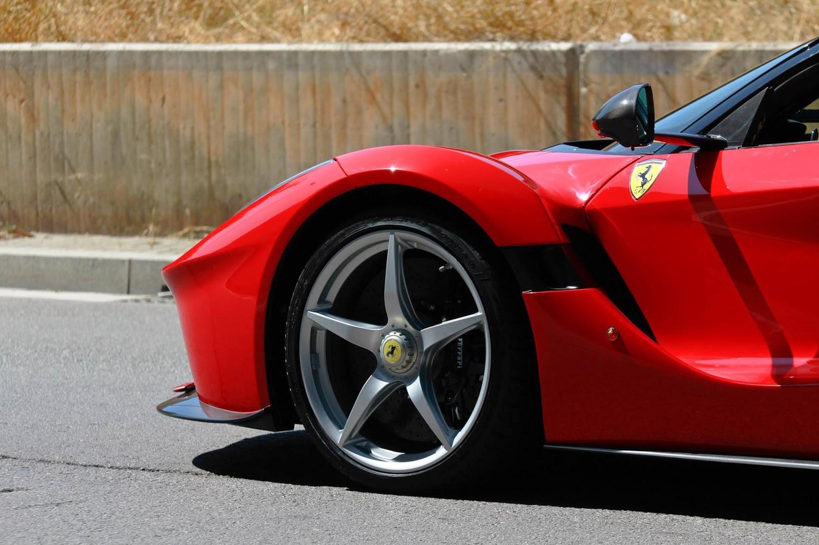 Ferrari LaFerrari Aperta - Foto spia 08-09-2016