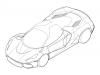 Ferrari LaFerrari SP - Disegni brevetto