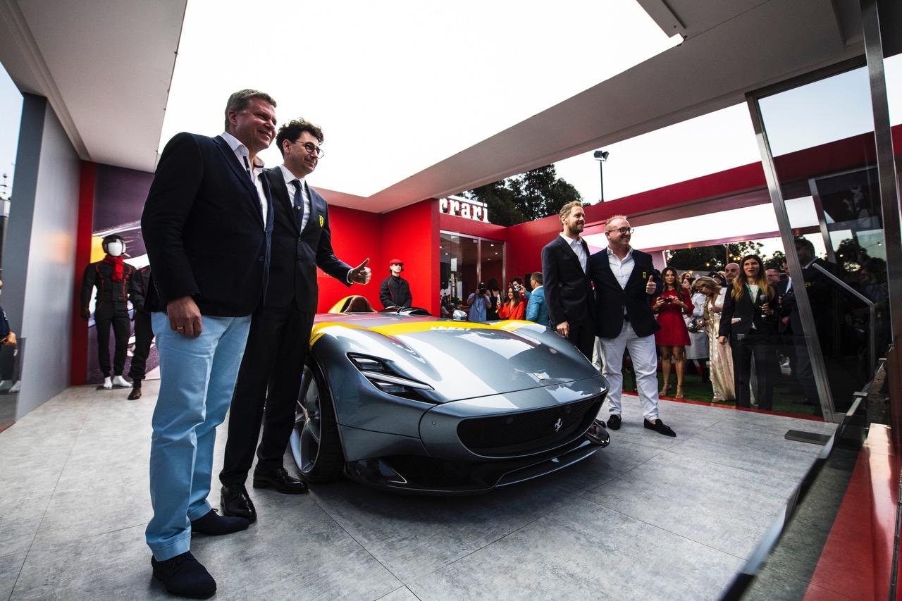 Ferrari Monza SP1 - Vettel Australia