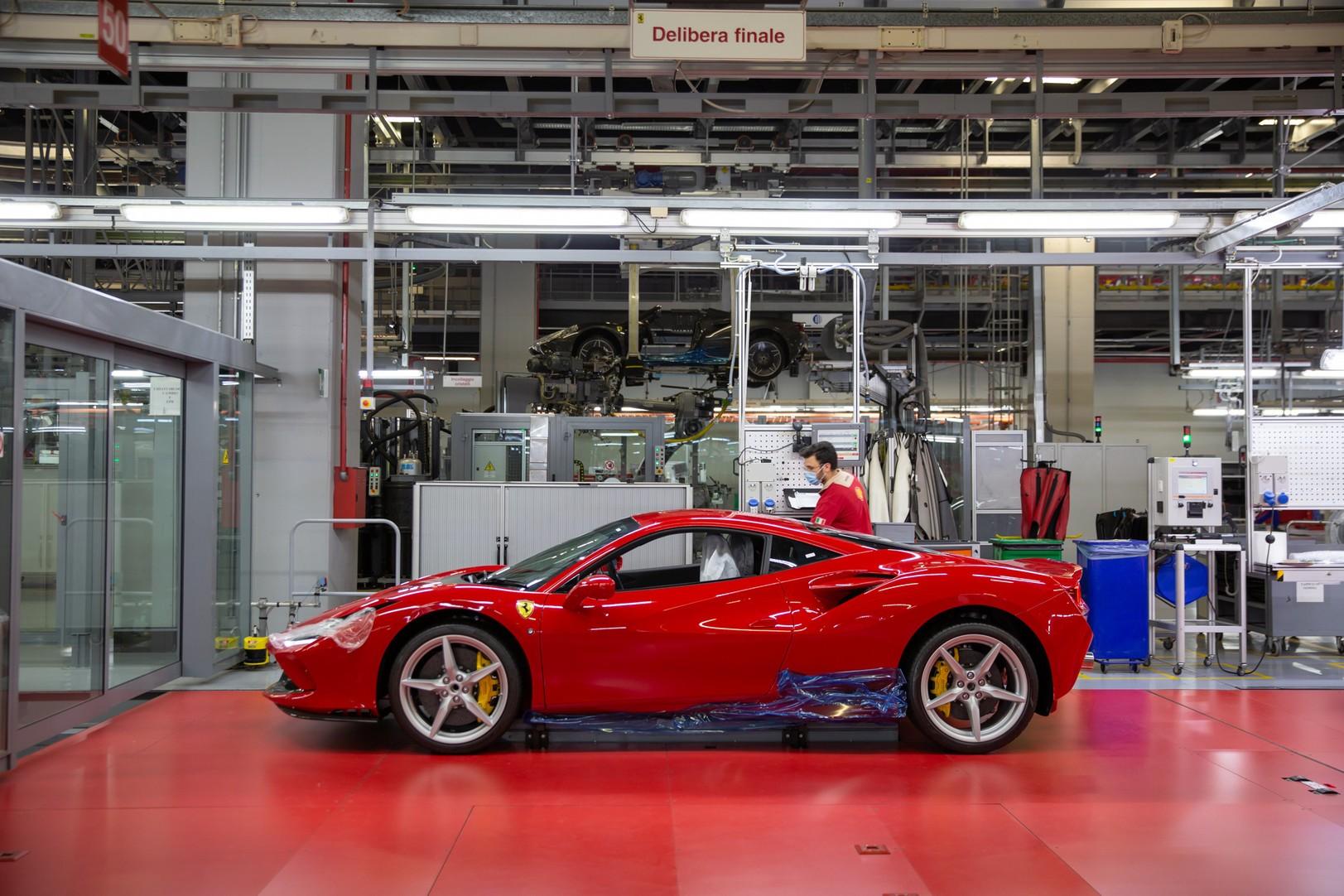 Ferrari - Produzione post-lockdown