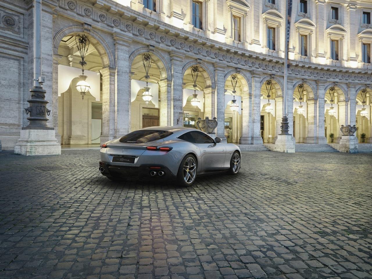 Ferrari Roma - Foto ufficiali
