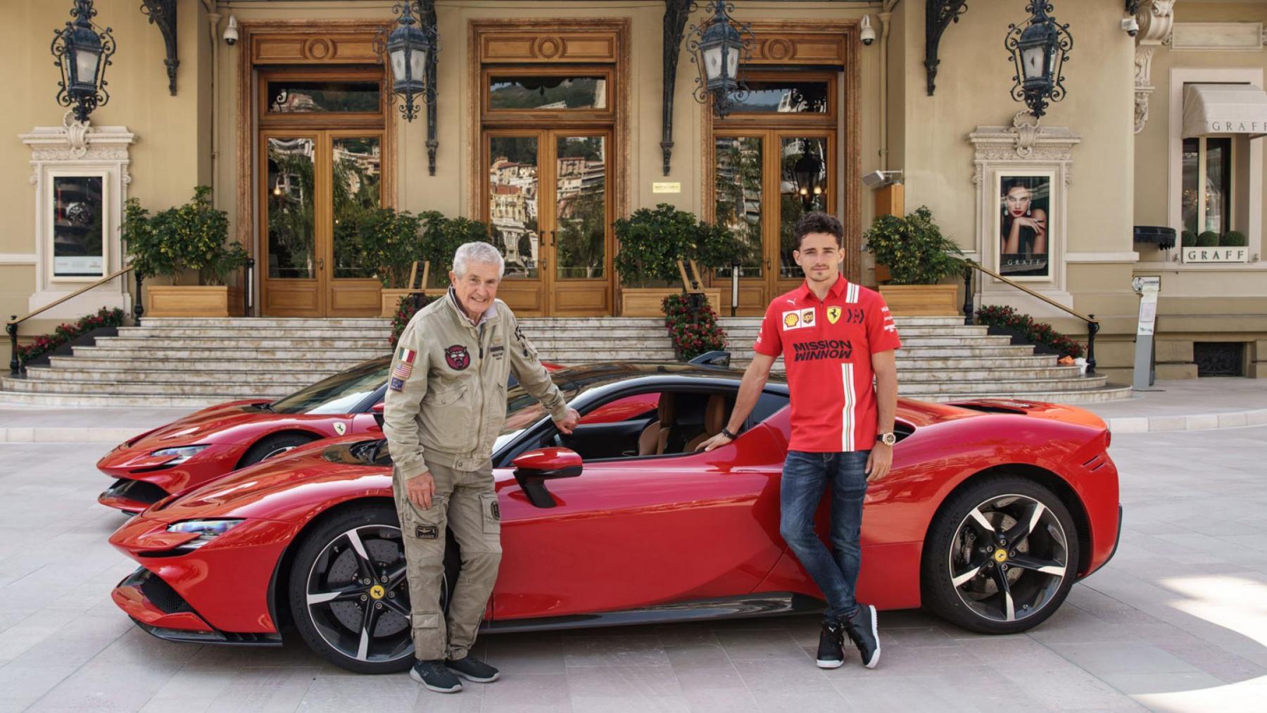 Ferrari SF90 Stradale - Charles Leclerc - Monaco