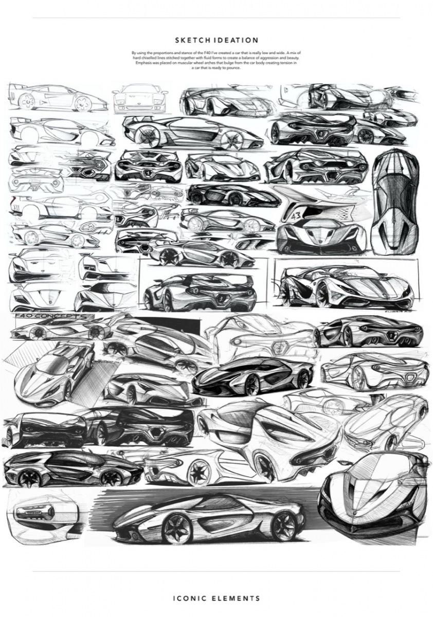 Ferrari Stallone - Hypercar Concept