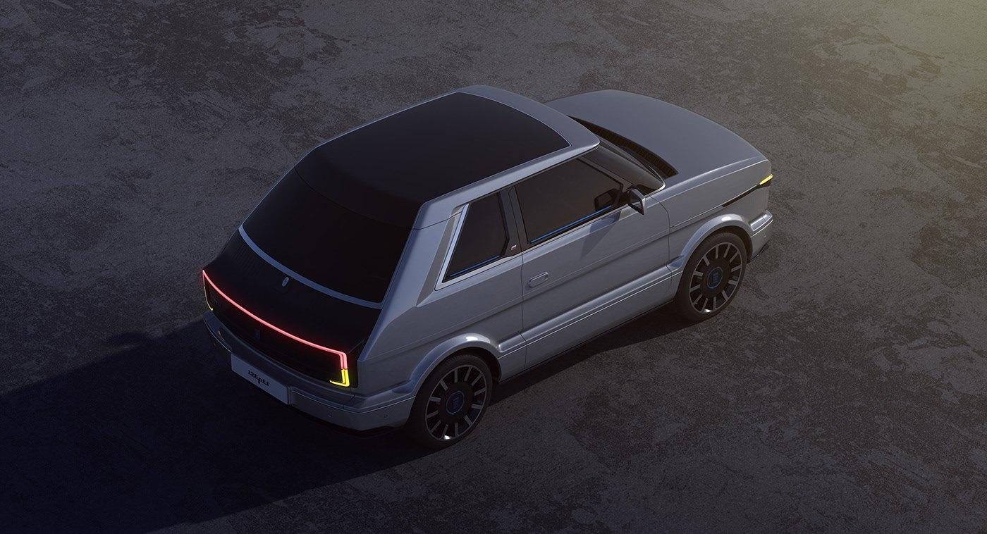 Fiat 126 EV - Render