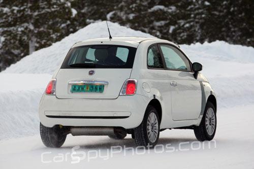 Fiat 500 4x4 spy