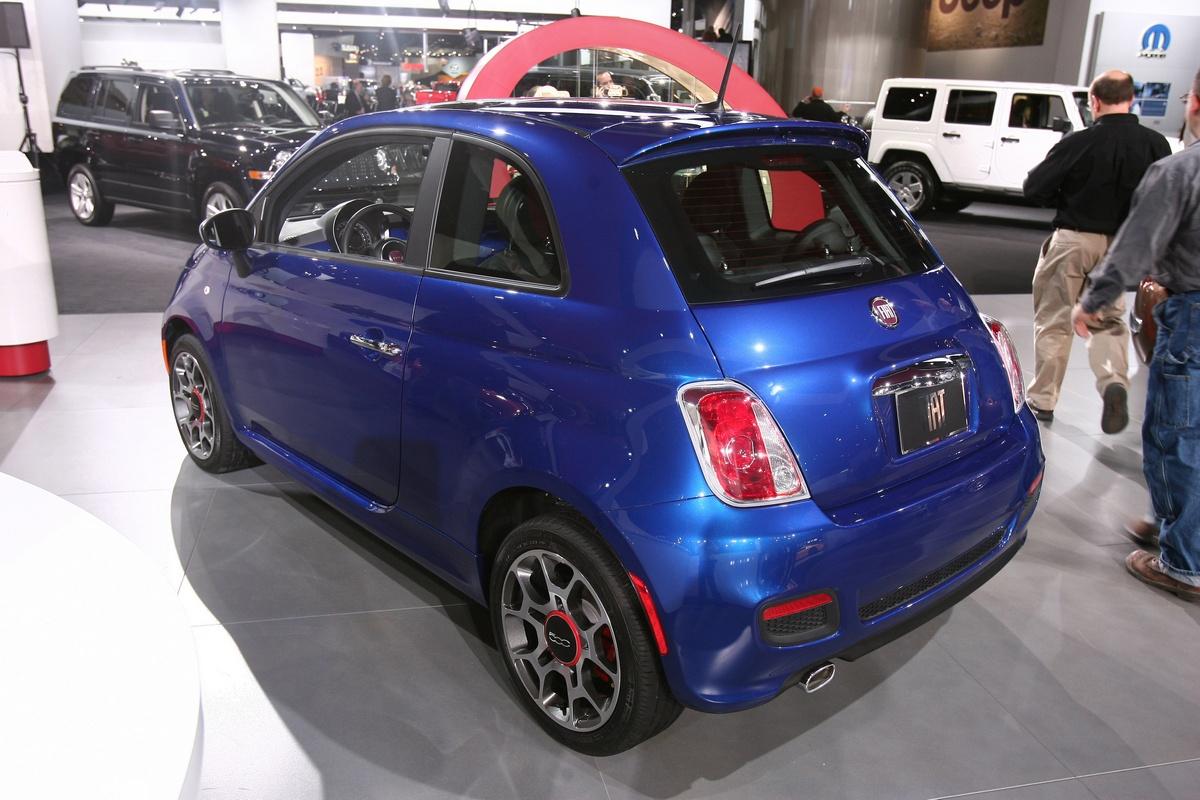 FIAT 500 al Salone di Detroit 2011