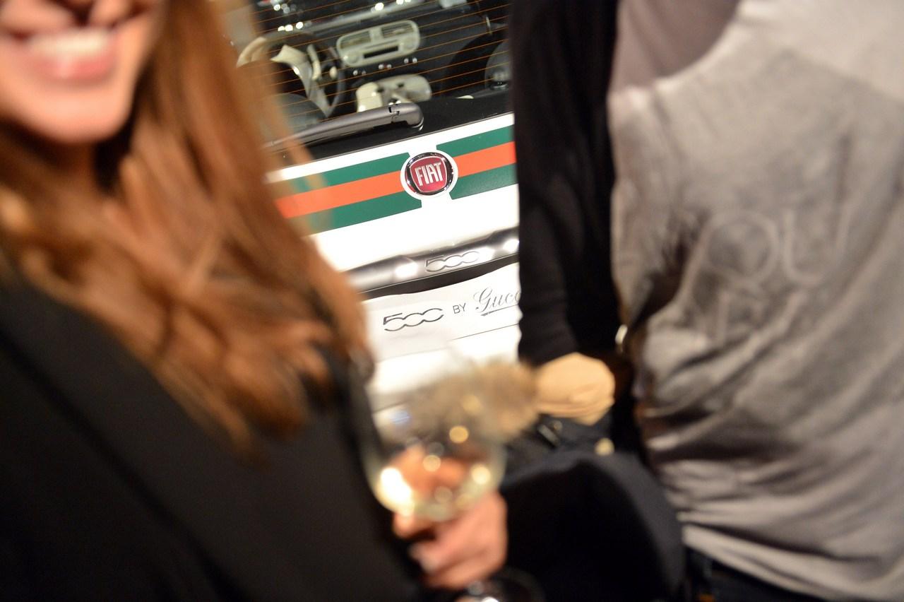 FIAT 500 by Gucci - Evento a Milano - 16 aprile 2012
