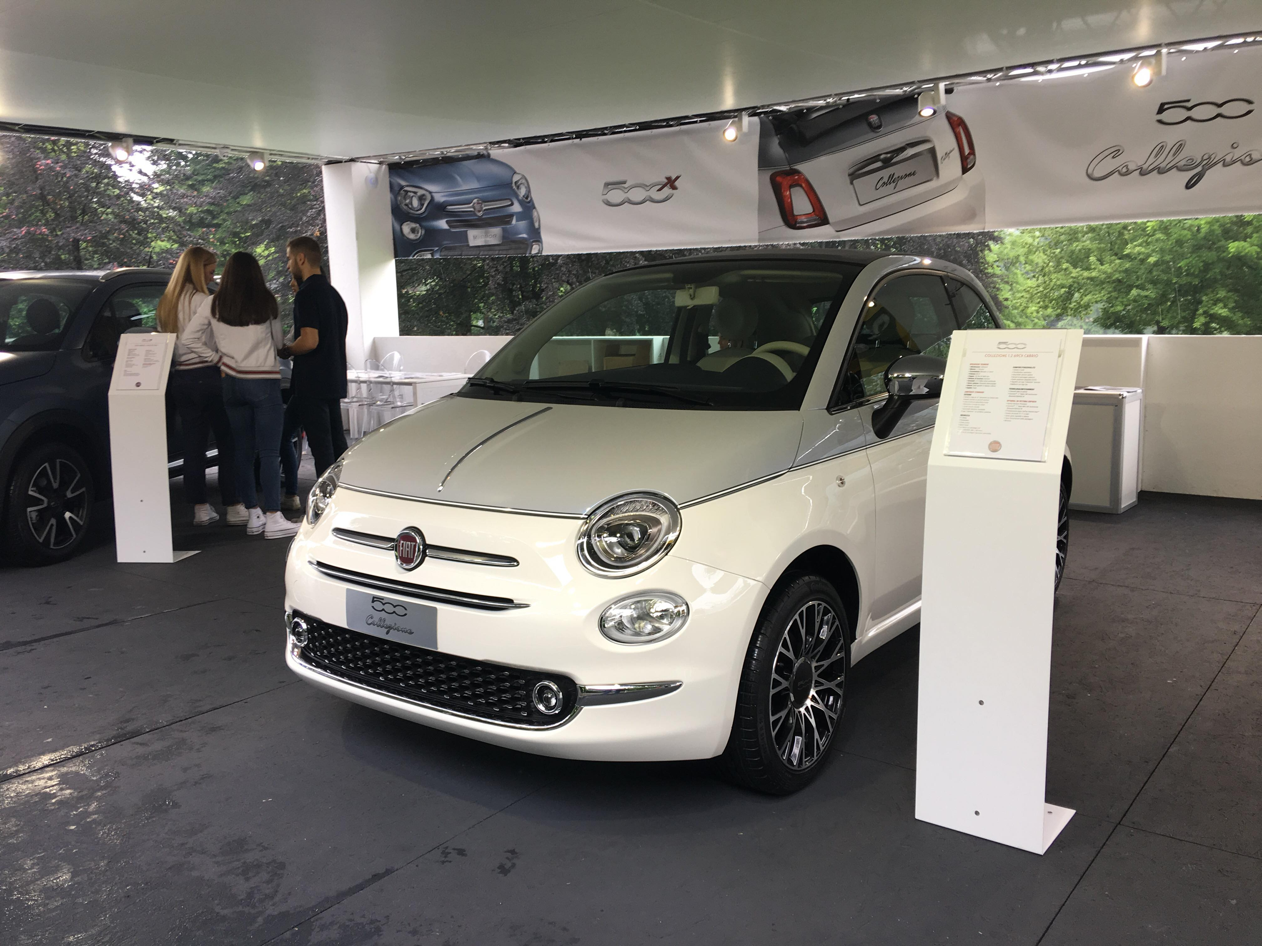 Fiat 500 Collezione Parco Valentino 2018