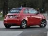 Fiat 500 Elettrica rossa