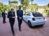 Fiat 500 elettrica - Sergio Mattarella