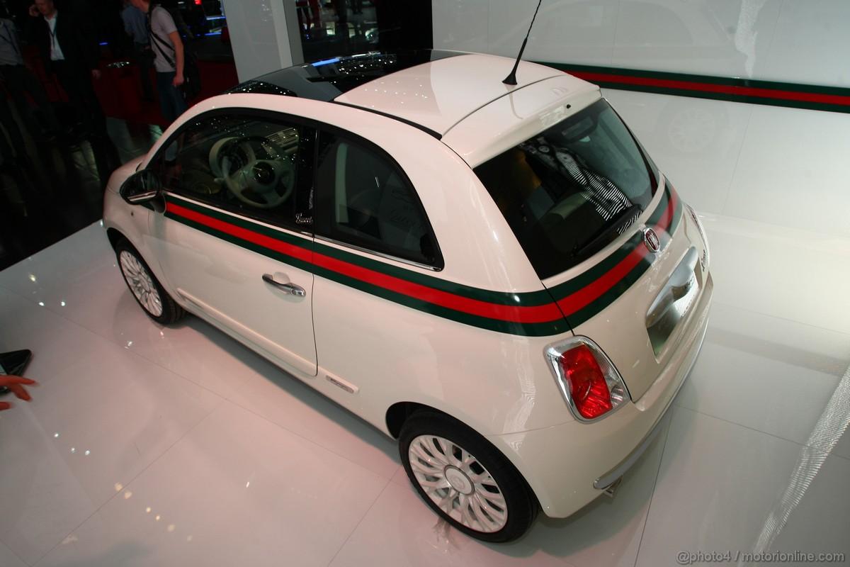 Fiat 500 Gucci Ginevra 2011