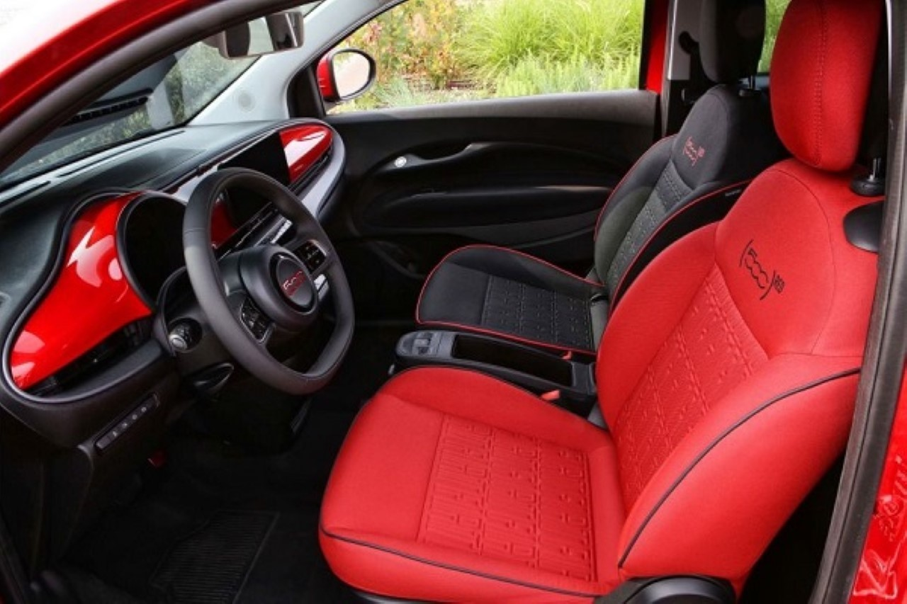 Fiat 500 Red - Foto ufficiali