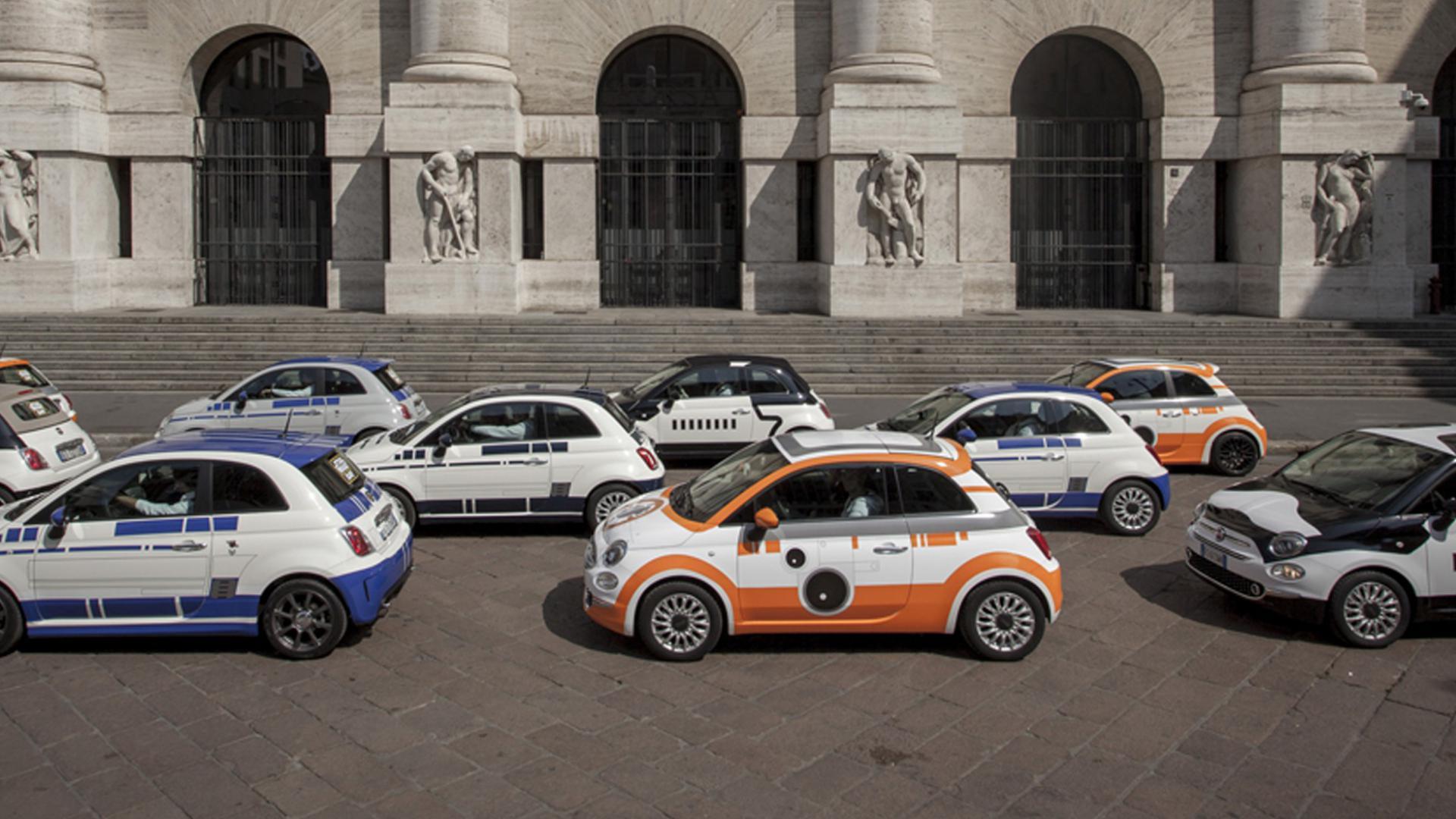 Fiat 500 - Star Wars Day 2016