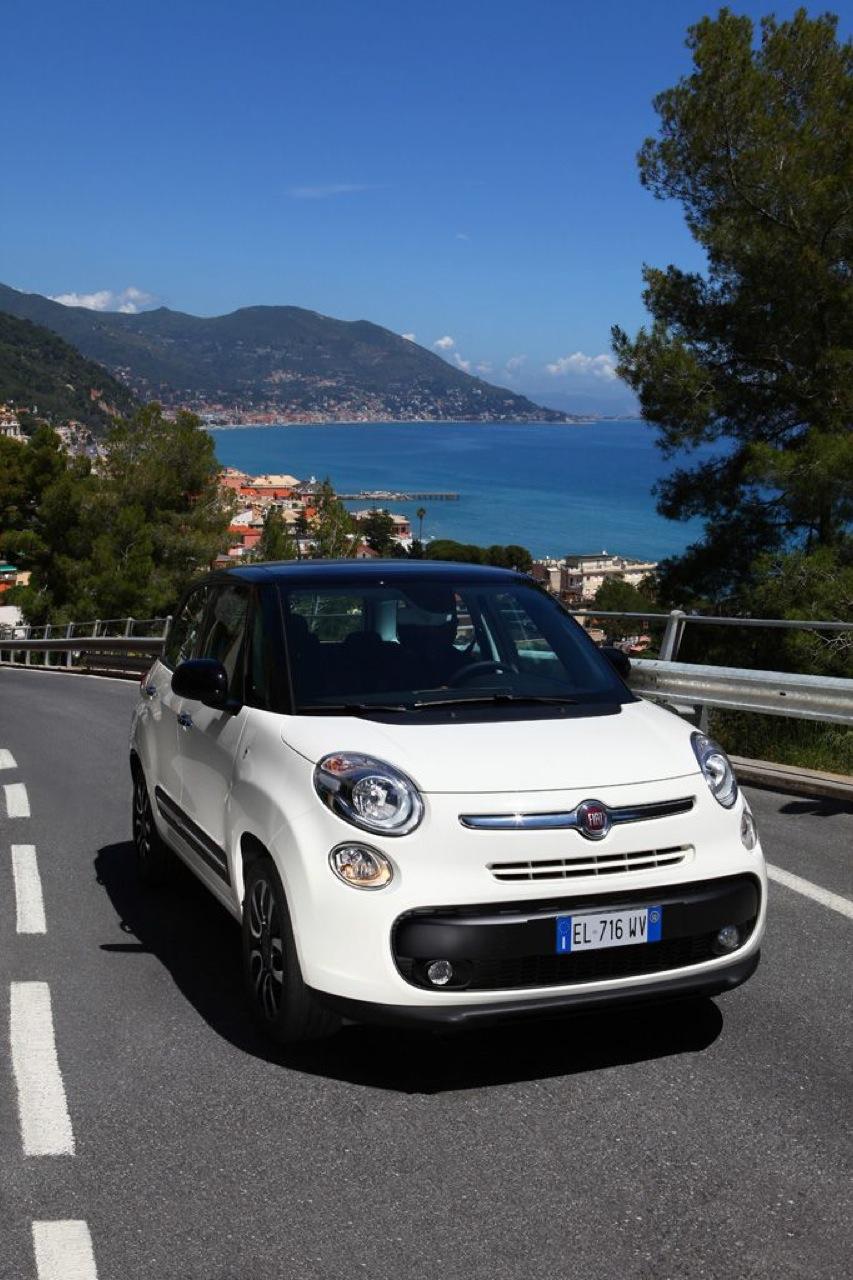 Fiat 500L - Nuove foto ufficiali
