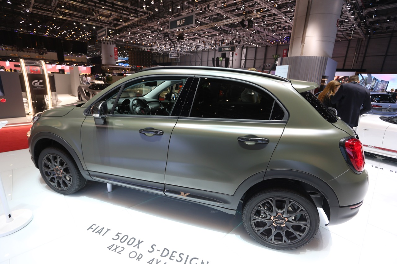 fiat 500x s design foto live salone di ginevra 2018 4 7. Black Bedroom Furniture Sets. Home Design Ideas
