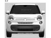 Fiat 500XL bozzetti industriali