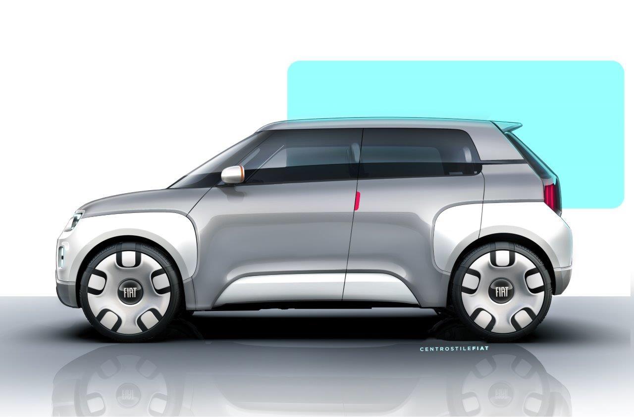 Fiat Centoventi Concept Foto Ufficiali - Salone di Ginevra 2019