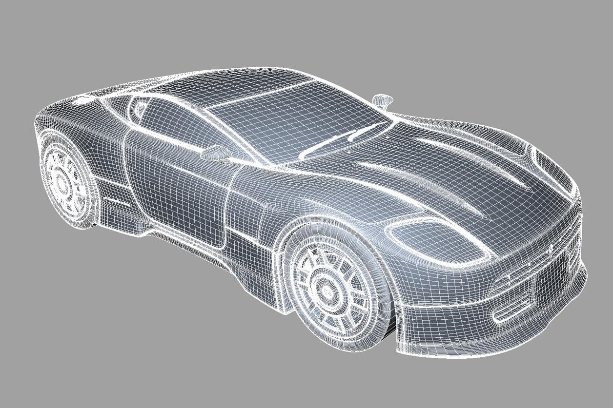 Fiat Dino - Studio di Peter Norris