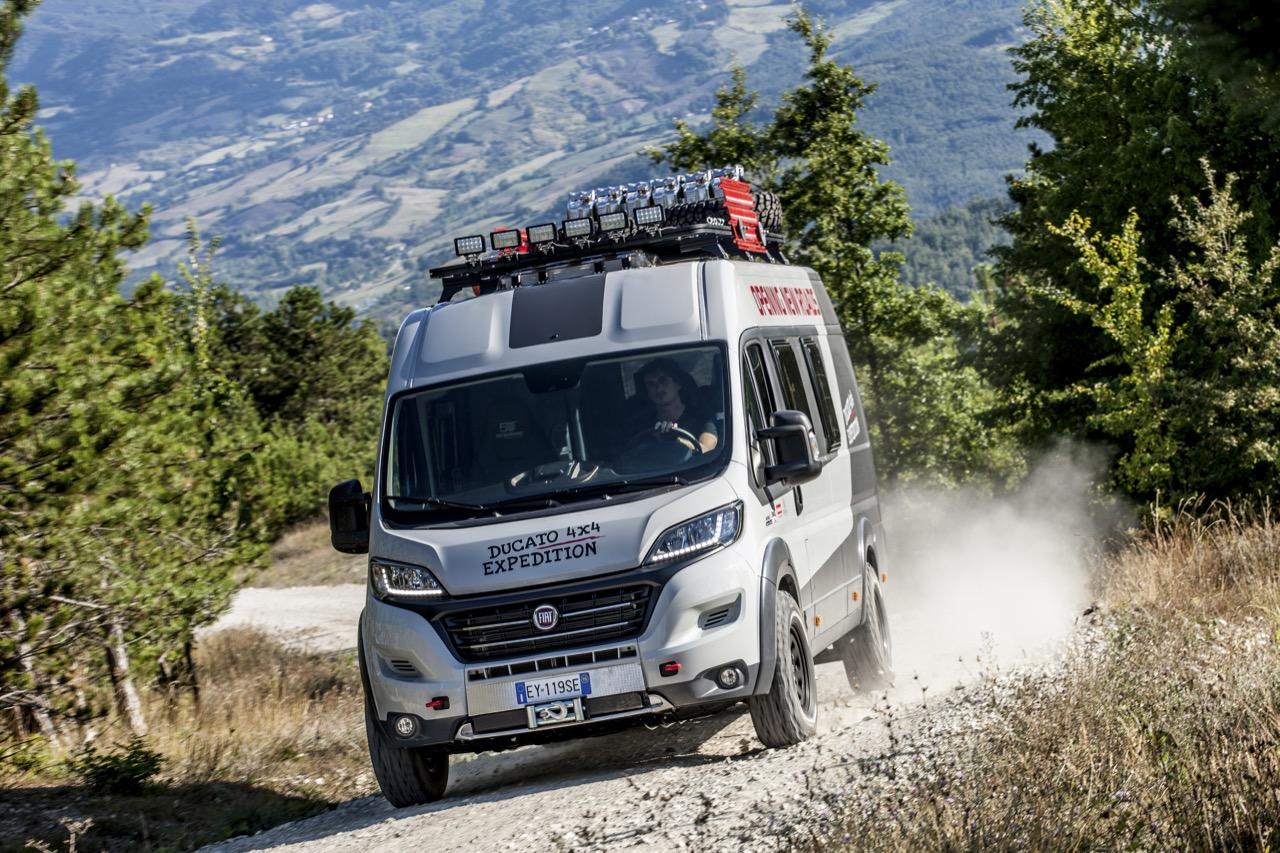 Fiat Ducato 4x4 Expedition e nuovo Panorama