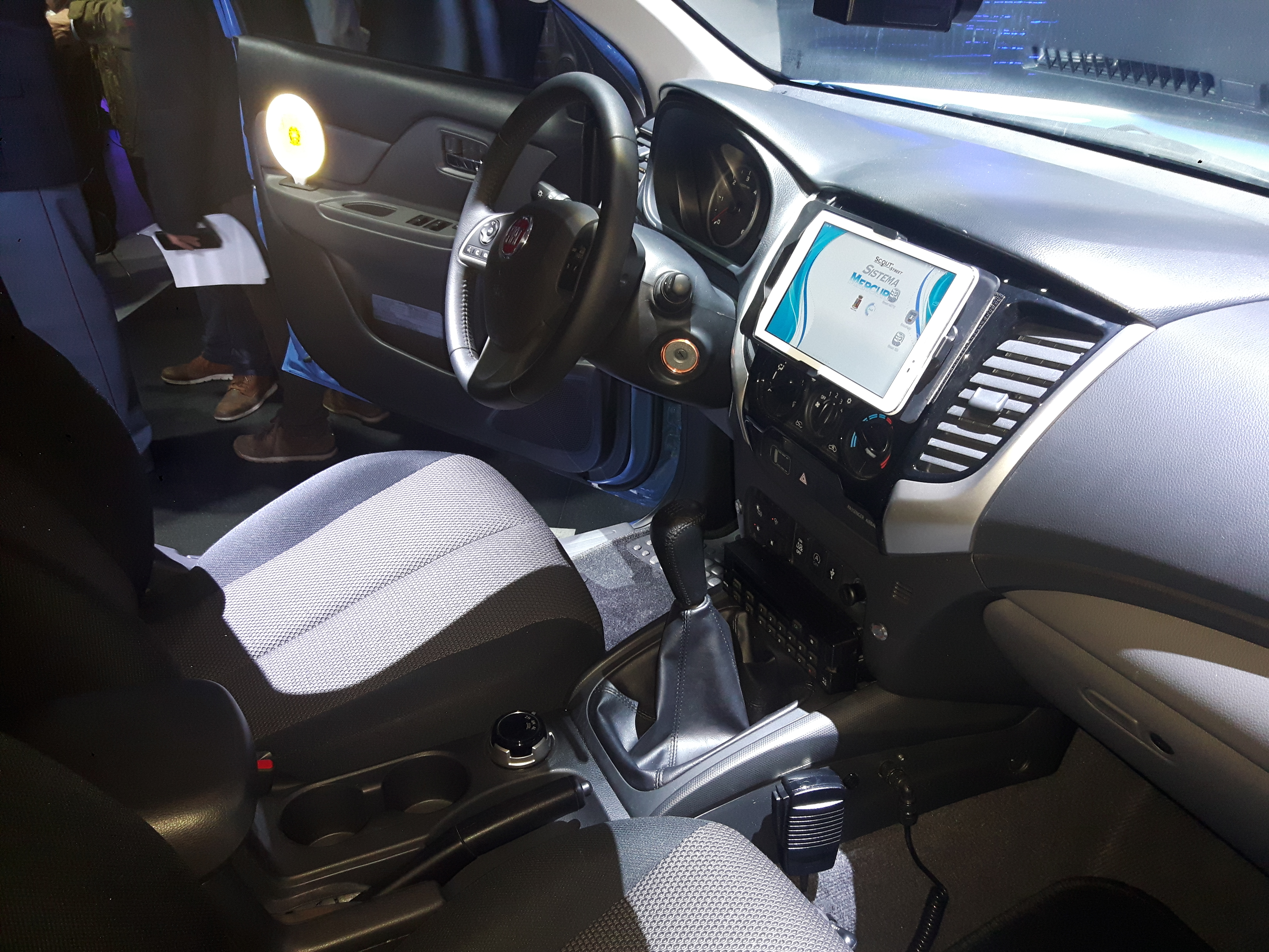 Fiat Fullback Polizia Scientifica