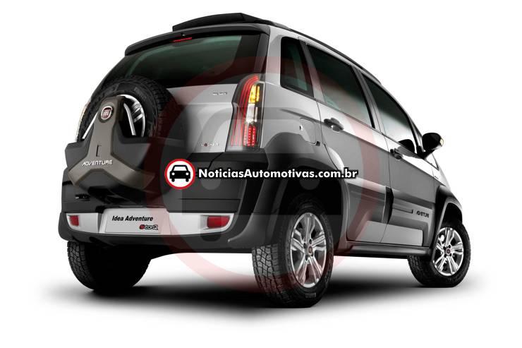 Fiat Idea 2011 Brasile 44