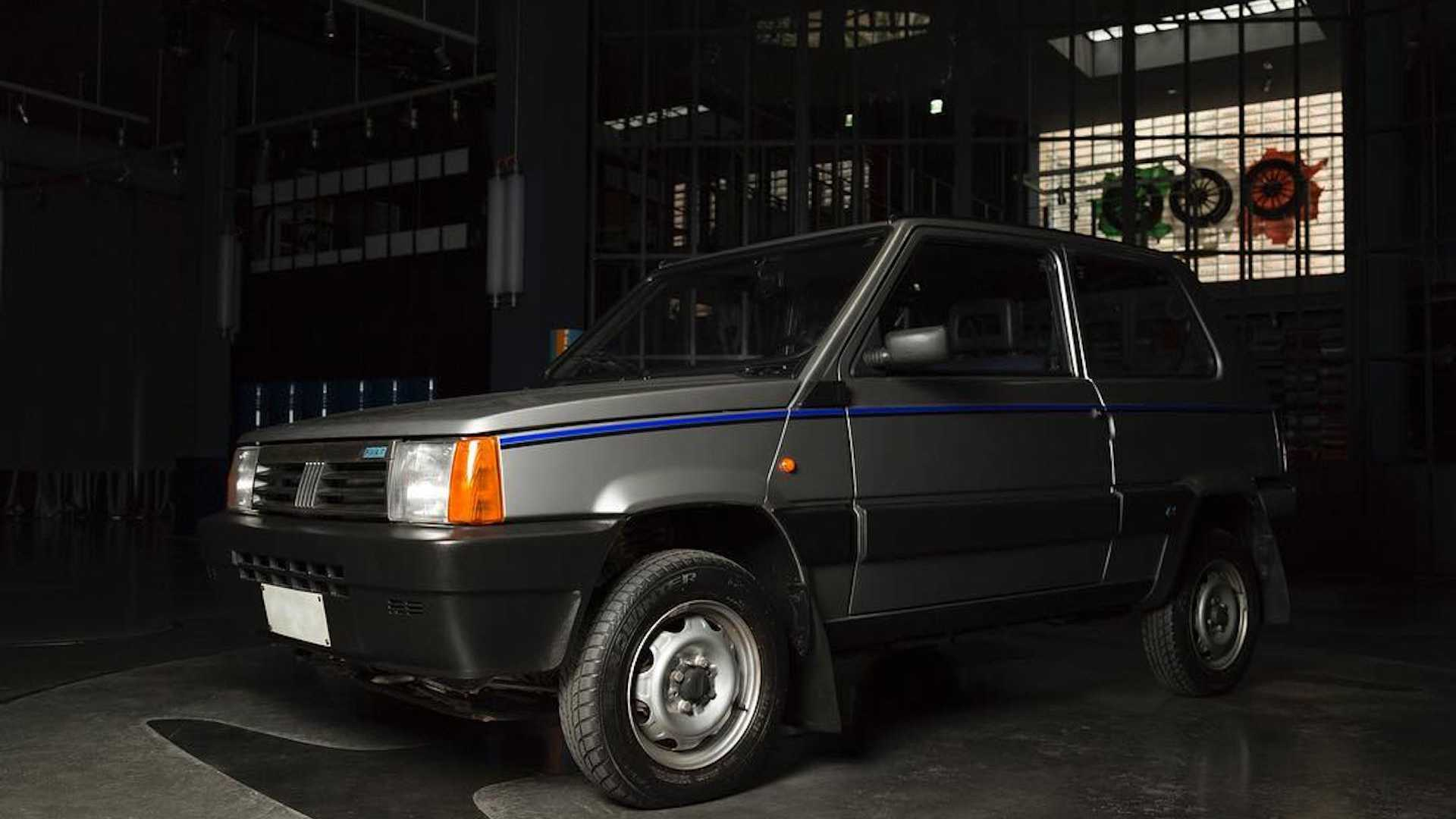 Fiat Panda 4x4 by Garage Italia Customs