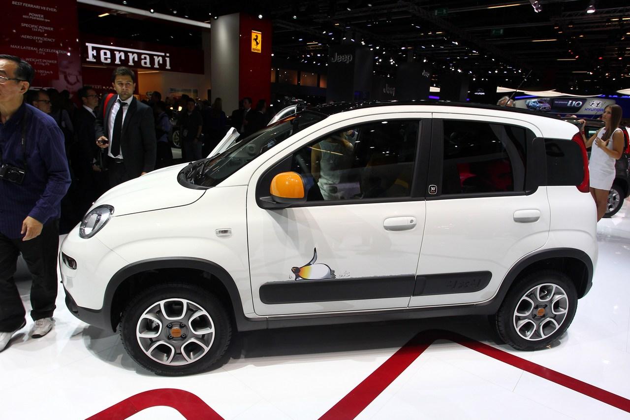 Fiat Panda Antartica - Salone di Francoforte 2013