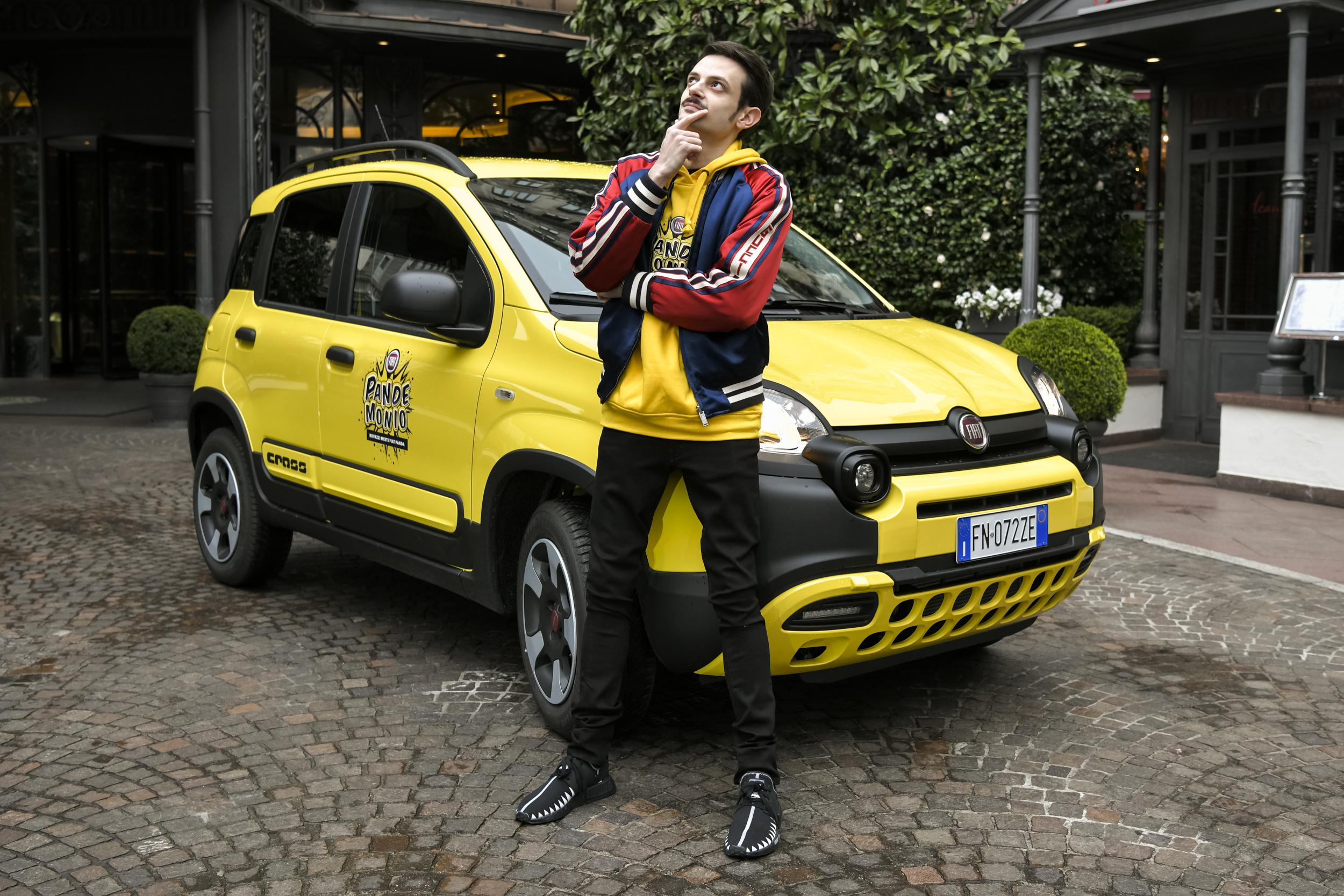 Fiat Panda e Fabio Rovazzi - Pandemonio