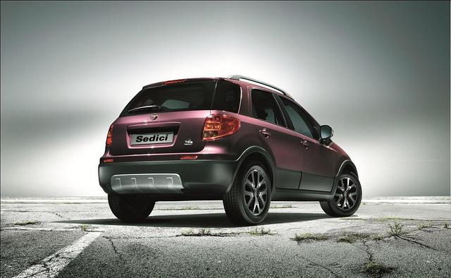 Fiat Sedici 2012, foto ufficiali