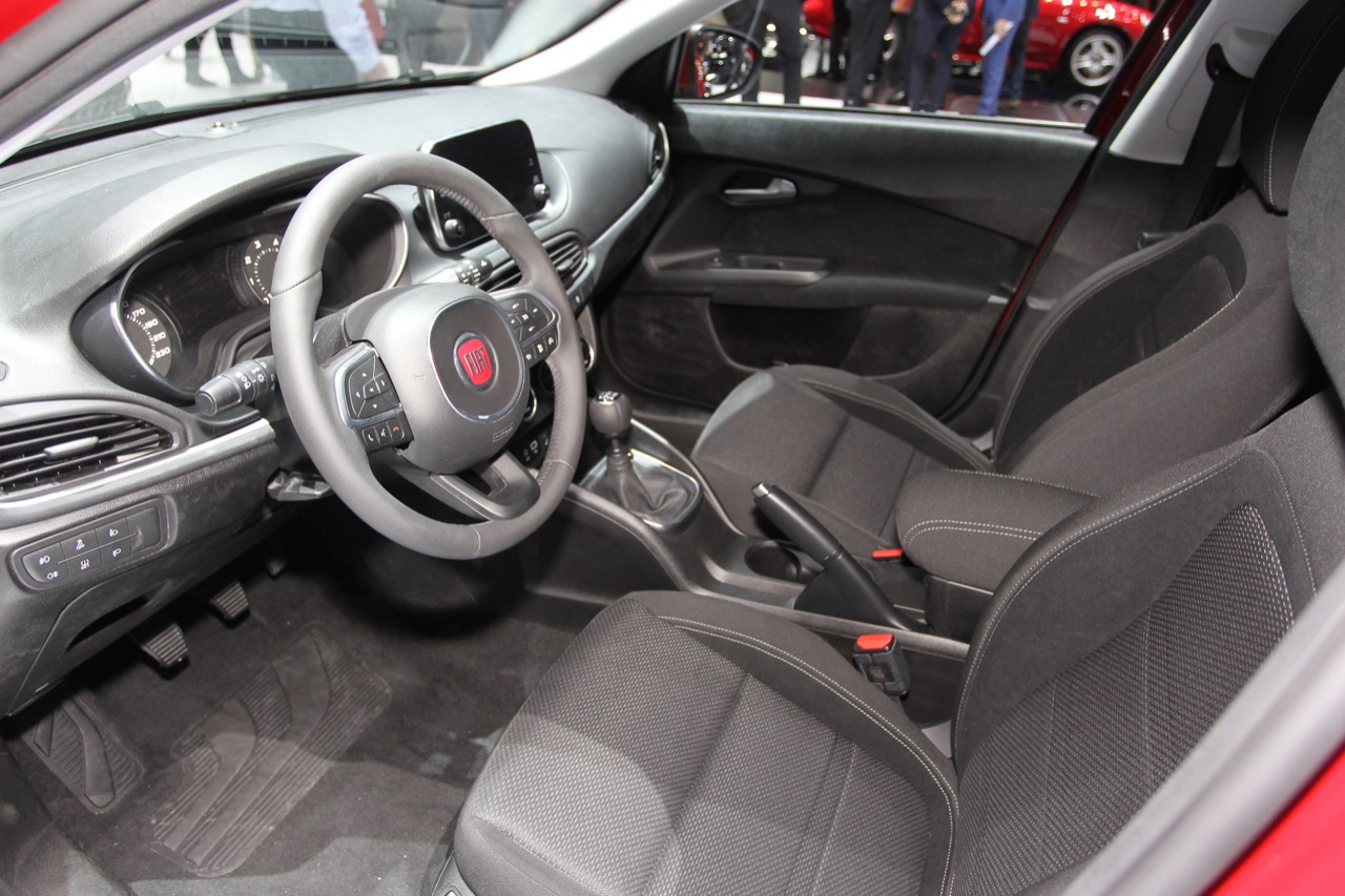 fiat tipo hatchback salone di ginevra 2016 5 7. Black Bedroom Furniture Sets. Home Design Ideas