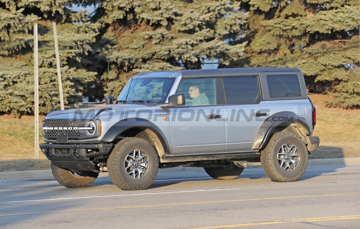 Ford Bronco - Foto spia 12-03-2021