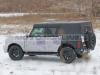 Ford Bronco quattro porte 2021 - Foto spia 15-01-2020