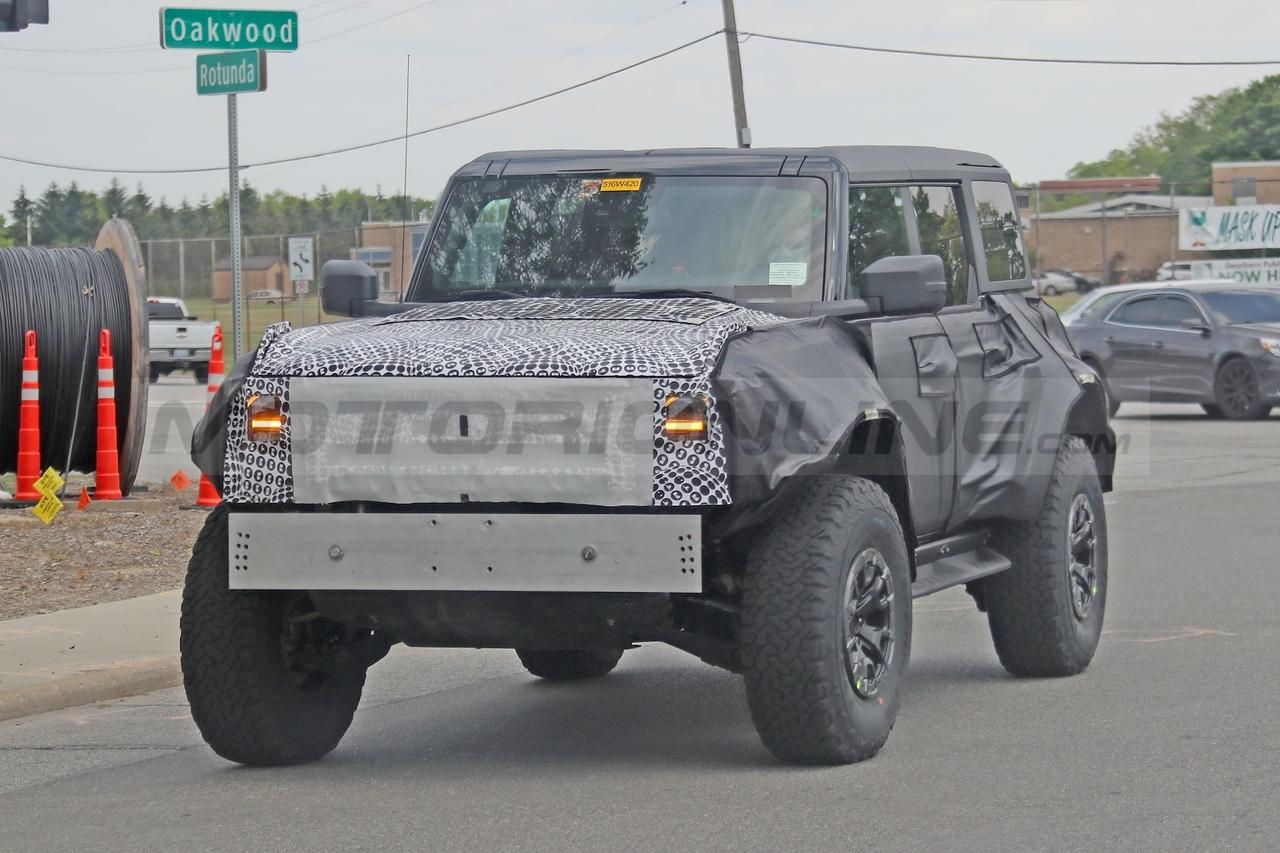 Ford Bronco Raptor - Foto Spia 09-09-2021