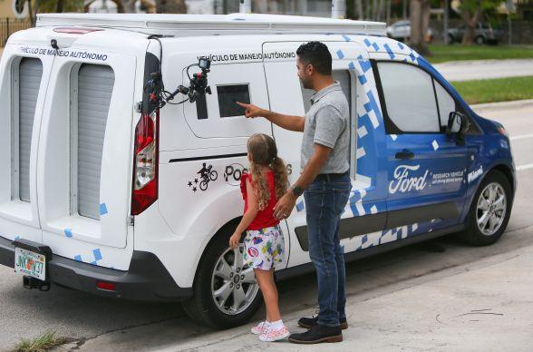 Ford e Postmates