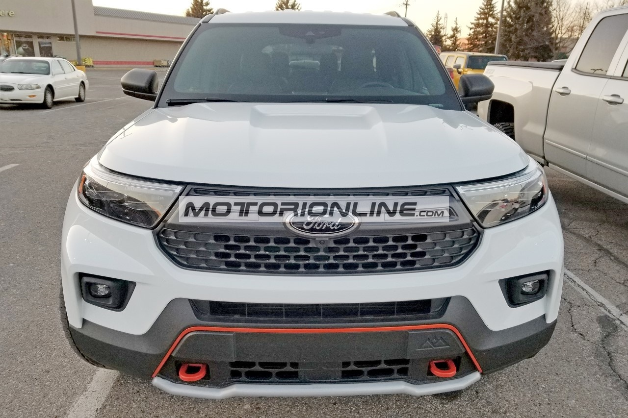 Ford Explorer Timberline - Foto spia 8-3-2021