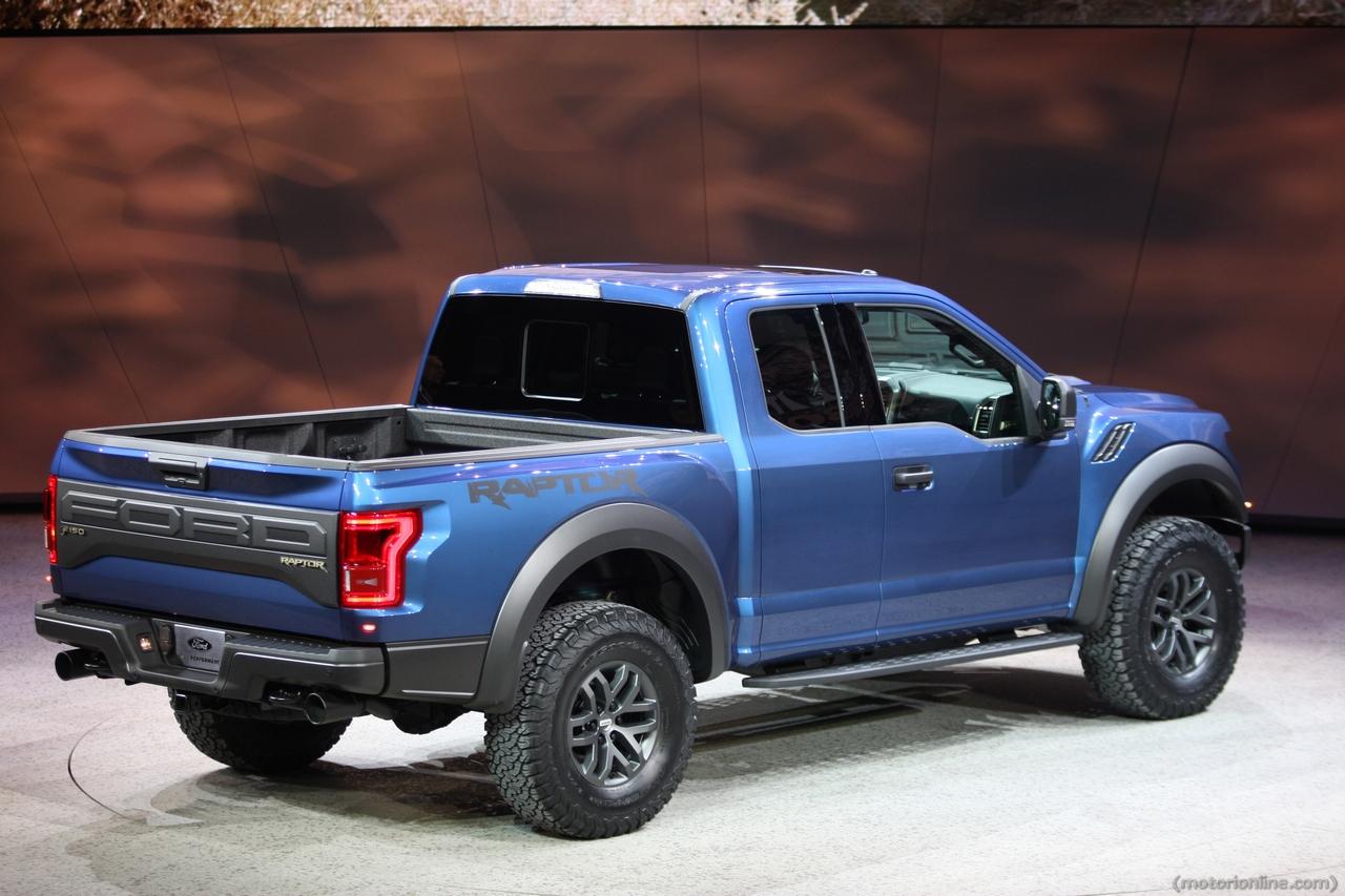 Ford F150 Raptor - Salone di Detroit 2015
