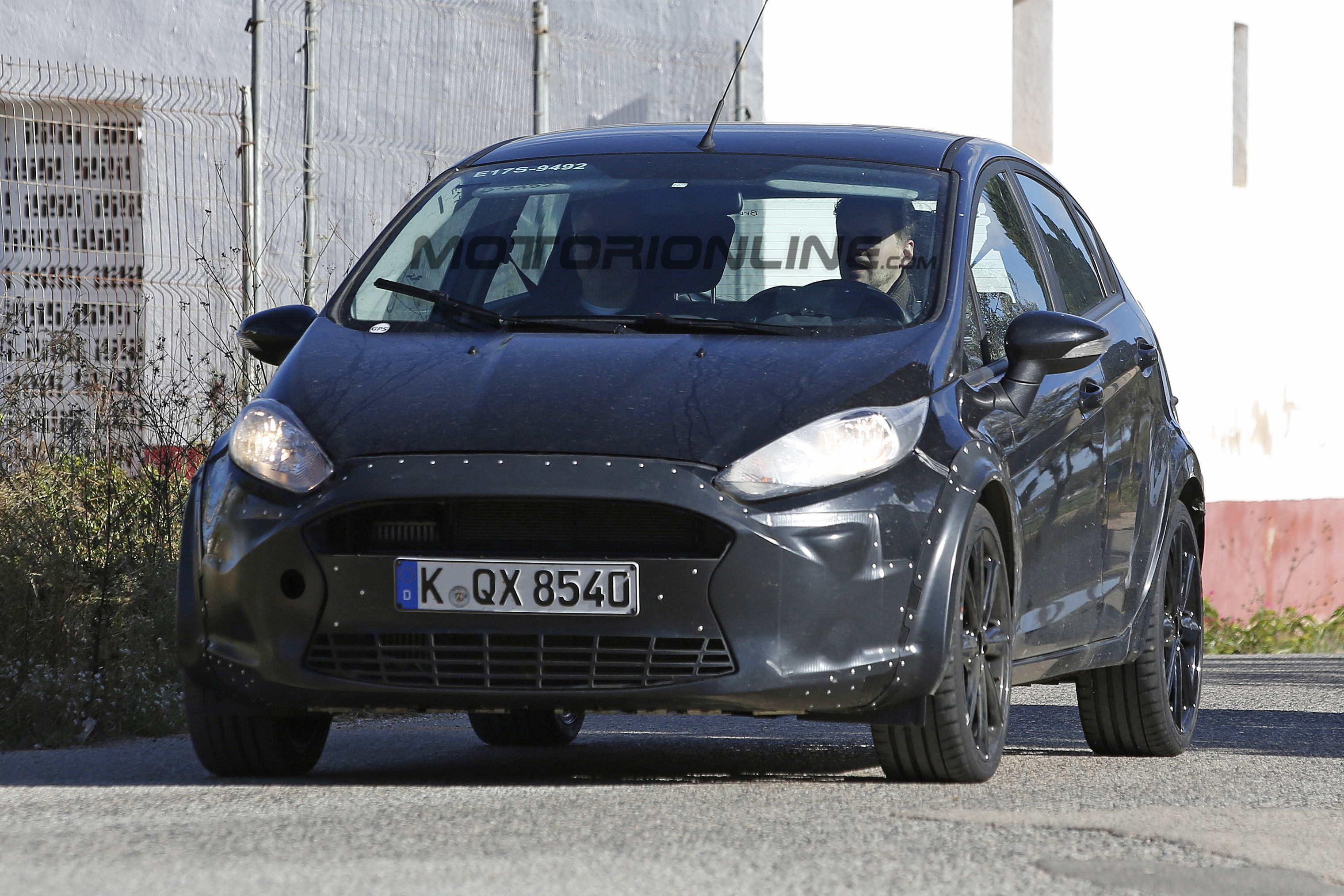 Ford Fiesta RS - Foto spia 26-11-2015