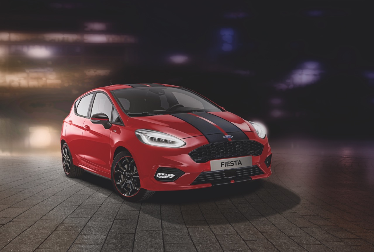 Ford Fiesta ST-Line Red e Black Edition