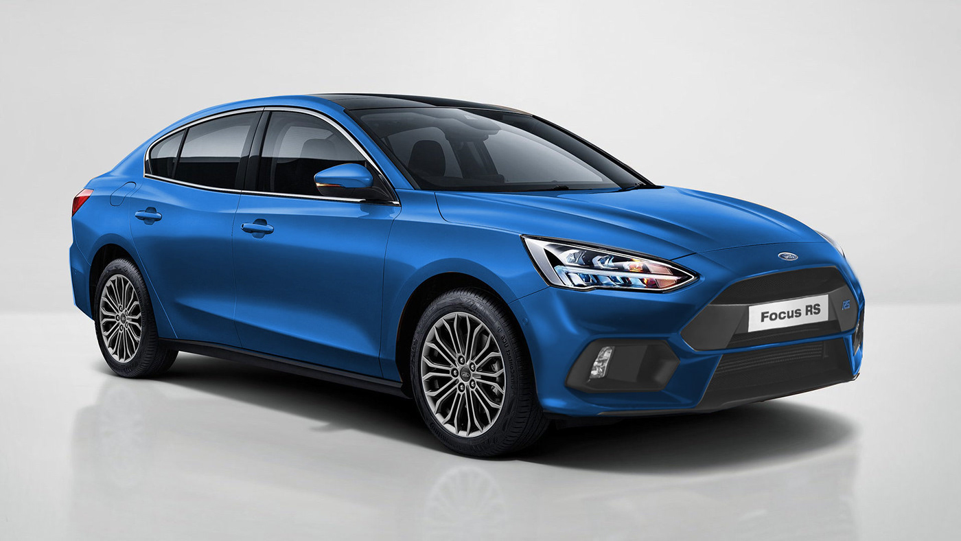 Ford Focus RS 2020 - Rendering - 5/5