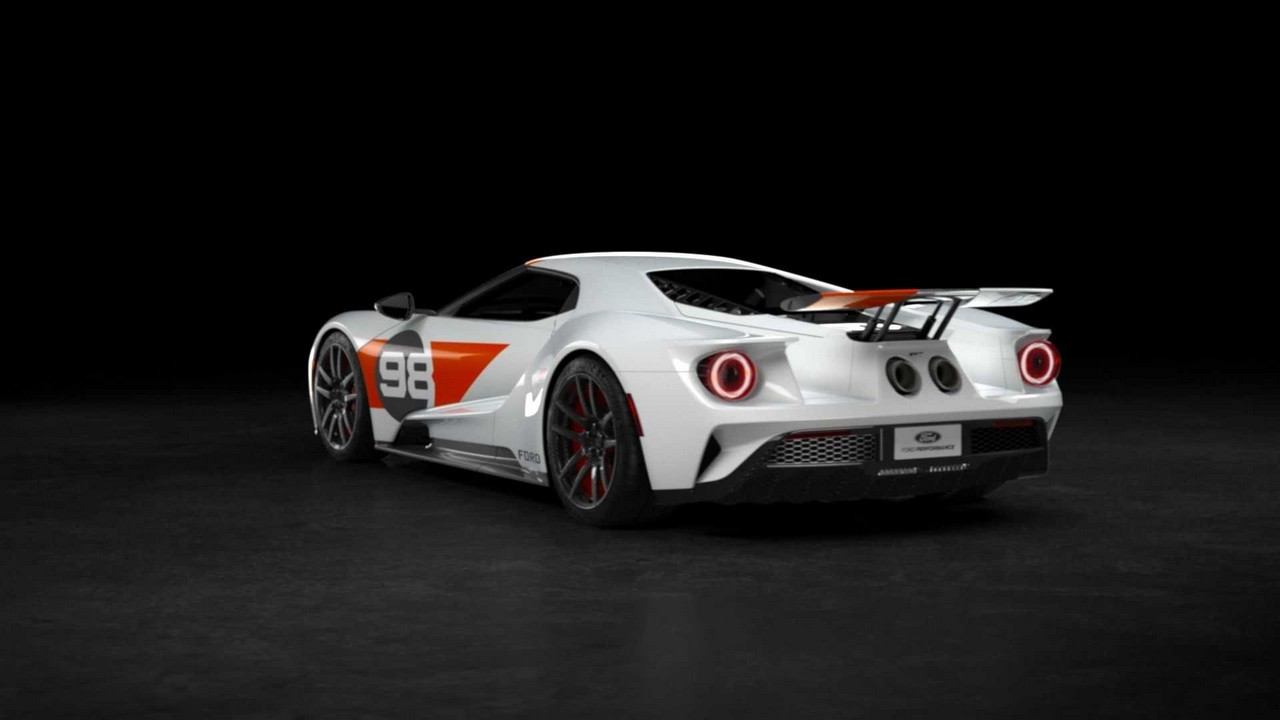Ford GT Heritage Edition 2021