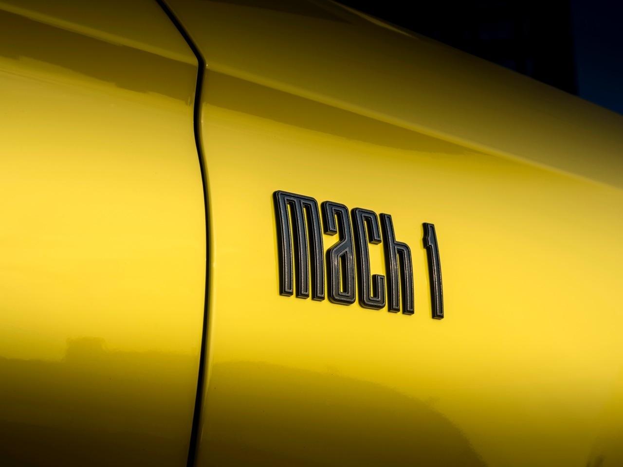 Ford Mustang Mach 1 - Foto ufficiali Europa