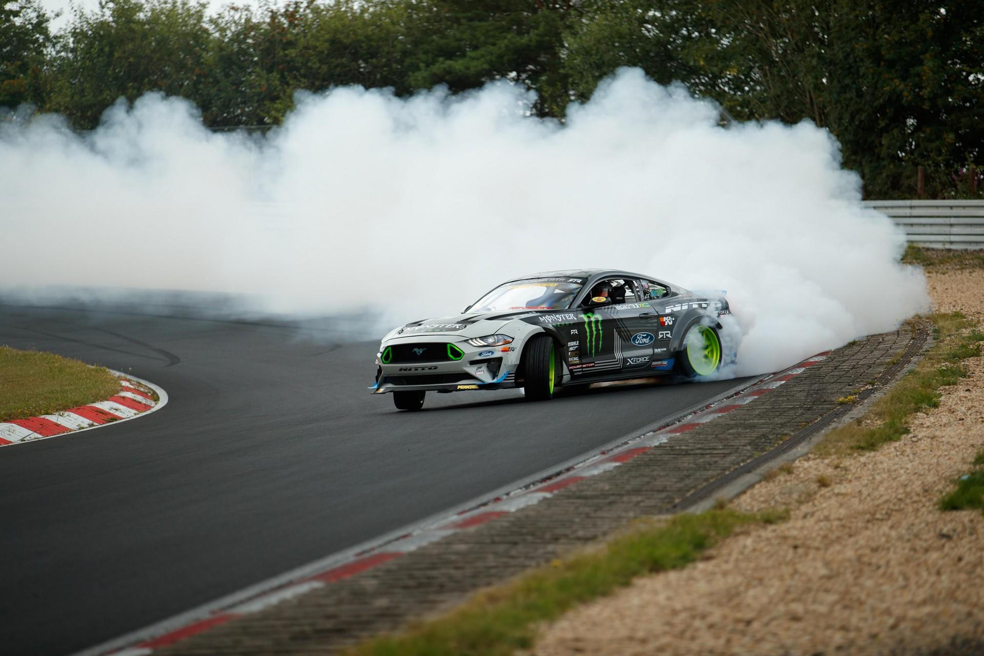 Ford Mustang RTR - Drift al Nurburgring