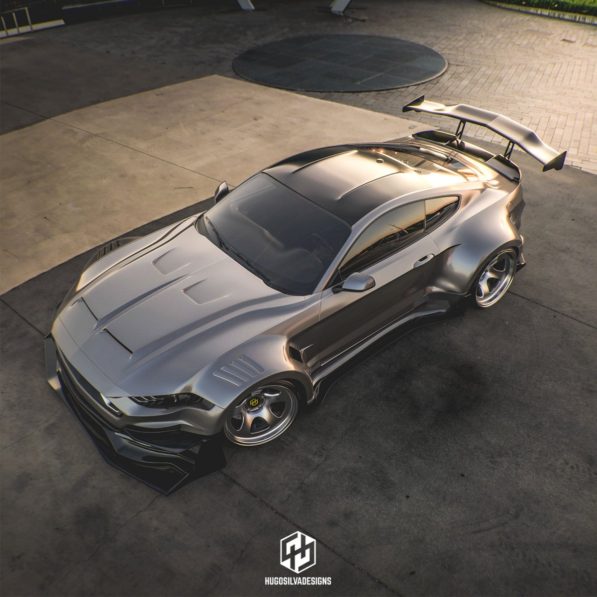 Ford Mustang Shelby Super Snake 2020 - Rendering