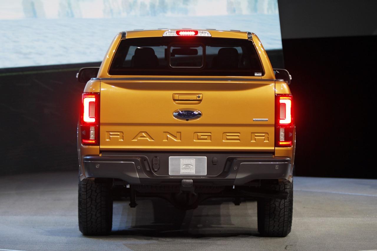 Ford Ranger - Salone di Detroit 2018