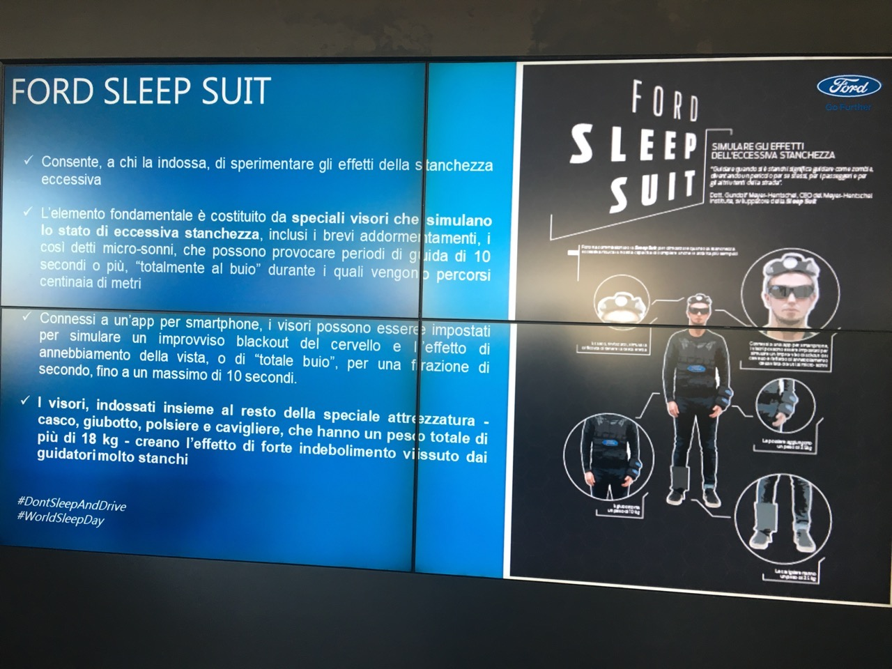 Ford Sleep Suit - Milano