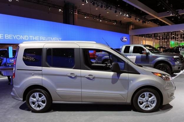 Ford Tourneo Connect - Salone di Los Angeles 2012