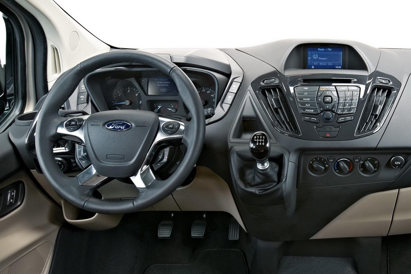 Ford tourneo custom concept 7 8 for Ford transit custom interior